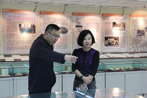 人保财险天津市分公司高健总经理会见河东区邓俏梅